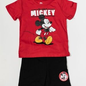 Disney 4pc Short Set